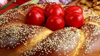 easter sweet bread
