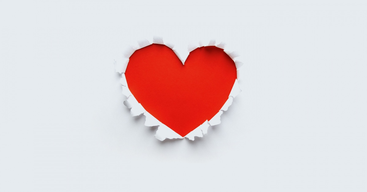 how to add a heart on facebook
