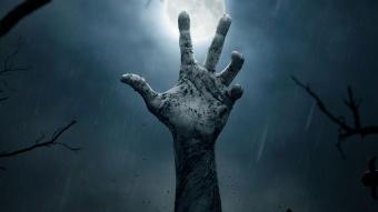 mano de zombie