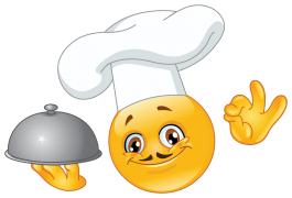 chef emoticon sticker