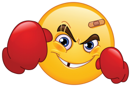 fighter emoticon sticker