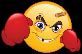 fighter emoticon sticker