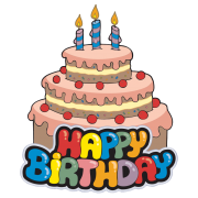happy birthday sticker for facebook sticker