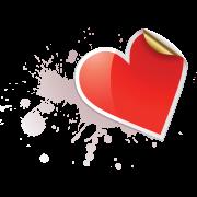 heart sticker sticker