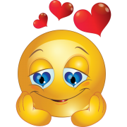 love emoticon sticker