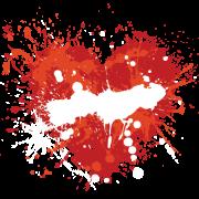 paint at heart sticker