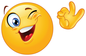 emoticon showing ok sign sticker