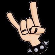rock on! sticker
