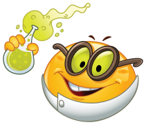 scientist emoticon sticker