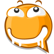 slobbering emoticon sticker
