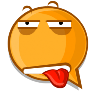 thirsty emoticon sticker