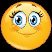 beauty smiley sticker