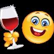 cheers emoticon sticker