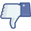 facebook dislike sticker