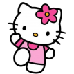 hello kitty sticker