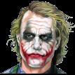 joker face sticker