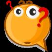 question emoticon sticker