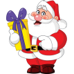 santa claus sticker sticker