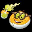 scientist emoticon sticker