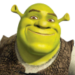 shrek frace sticker