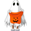 Trick or Treating Sticker