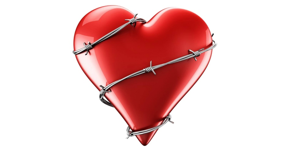 Image result for heart with barbed wire