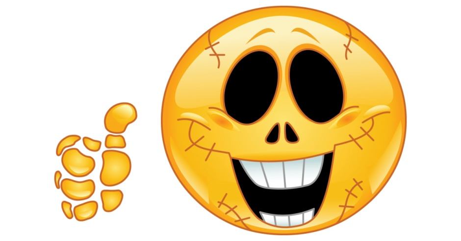 Find A Code >> Skull Smiley